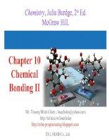 Tài liệu Chapter 10 Chemical Bonding II