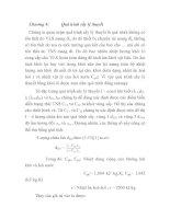Chương 4: Quá trình sấy lý thuyết