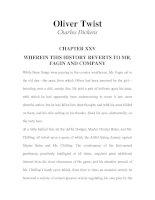 LUYỆN ĐỌC TIẾNG ANH QUA TÁC PHẨM VĂN HỌC-Oliver Twist -Charles Dickens -CHAPTER 25