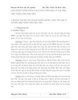 GIẢI PHÁP NHẰM NÂNG CAO CHẤT LƯỢNG ĐẠI LÝ TẠI BẢO VIỆT NHÂN THỌ HƯNG YÊN.