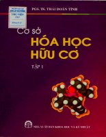 Cơ sở hóa học hữu cơ tập 1 - Thái Doãn Tĩnh