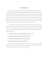 ĐÁNH GIÁ HOẠT ĐỘNG KINH DOANH của NGÂN HÀNG NGOẠI THƯƠNG VIỆT NAM