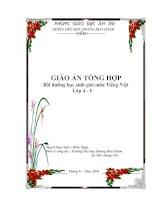 Bài giảng Tài liệu BDHSG môn Tiếng Việt lớp 4-5