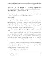 HOÀN THIỆN KẾ TOÁN DOANH THU, CHI PHÍ VÀ XÁC ĐỊNH KẾT QUẢ KINH DOANH TẠI CÔNG TY TNHH SẢN XUẤT, XUẤT NHẬP KHẨU, DỊCH VỤ VÀ ĐẦU TƯ VIỆT THÁI