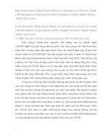 GIẢI PHÁP PHÁT TRIỂN HOẠT ĐỘNG TỰ DOANH TẠI CÔNG TY TNHH CHỨNG KHOÁN NGÂN HÀNG NÔNG NGHIỆP VÀ PHÁT TRIỂN NÔNG THÔN VIỆT NAM