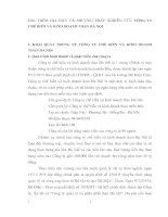 ĐẶC ĐIỂM ĐỊA BÀN VÀ PHƯƠNG PHÁP NGHIÊN CỨU CÔNG TY CHẾ BIẾN VÀ KINH DOANH THAN HÀ NỘI
