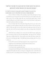 NHỮNG VẤN ĐỀ LÝ LUẬN CHUNG VỀ KẾ TOÁN TÀI SẢN CỐ ĐỊNH HỮU HÌNH TRONG CÁC DOANH NGHIỆP