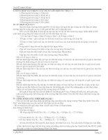 TỔNG HỢP TẢI TRỌNG TÁC DỤNG LÊN KHUNG TRỤC 3