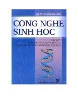 Công nghệ sinh học 1: Sinh học phân tử và tế bào