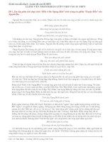 22 bài văn mẫu lớp 9