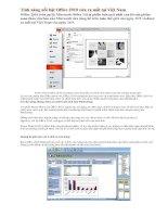 Tài liệu Tính năng nổi bật Office 2010