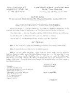 Bài giảng Điều lệ HKPĐ tỉnh khánh hòa