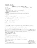 Bài giảng Hóa học 8 tết 37, 38