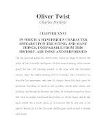 LUYỆN ĐỌC TIẾNG ANH QUA TÁC PHẨM VĂN HỌC-Oliver Twist -Charles Dickens -CHAPTER 26