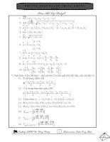 Bài soạn PP tọa độ trong không gian