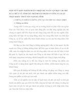 MỘT SỐ Ý KIẾN NHẰM HOÀN THIỆN KẾ TOÁN TẬP HỢP CHI PHÍ SỬA CHỮA VÀ TÍNH GIÁ THÀNH SẢN PHẨM Ở CÔNG TY XUẤT NHẬP KHẨU THUỶ SẢN NAM HÀ TĨNH