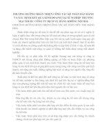 PHƯƠNG HƯỚNG HOÀN THIỆN CÔNG TÁC KẾ TOÁN BÁN HÀNG VÀ XÁC ĐỊNH KẾT QUẢ KINH DOANH TẠI XÍ NGHIỆP THƯƠNG MẠI THUỘC CÔNG TY DỊCH VỤ HÀNG KHÔNG NỘI BÀI