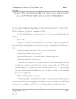 TỔ CHỨC CÔNG TÁC KẾ TOÁN TIÊU THỤ VÀ XÁC ĐỊNH KẾT QỦA KINH DOANH Ở CÔNG TY PHÁT TRIỂN CÁC CÔNG NGHỆ ĐIỆN TỬ