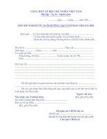 BM.TBXH.09. - Đơn đề nghị được nuôi dưỡng tại cơ sở bảo trợ xã hội