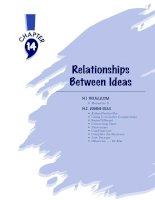 Relationships Between Ideas