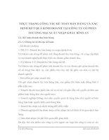 THỰC TRẠNG CÔNG TÁC KẾ TOÁN BÁN HÀNG VÀ XÁC ĐỊNH KẾT QUẢ KINH DOANH TẠI CÔNG TY CỔ PHẦN THƯƠNG MẠI XUẤT NHẬP KHẨU BÌNH AN