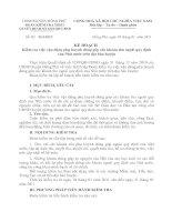 Bài giảng Đề cương báo cáo các khoản thu ngoài quy định của Nhà nước