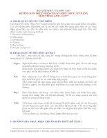 Bài giảng Chuẩn KTKN Tiếng Anh 7