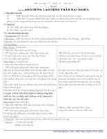 Bài soạn giáo án lớp 4 tuần 21 - chuẩn- gdmt
