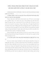 PHƯƠNG HƯỚNG HOÀN THIỆN TỔ CHỨC CÔNG TÁC KẾ TOÁN BÁN HÀNG NHẬP KHẨU TẠI CÔNG TY LÂM ĐẶC SẢN HÀ NỘI