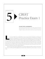 CBEST Practice Exam 1
