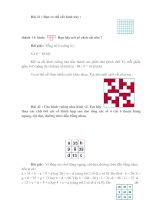 Bài soạn 10 DE, DAP AN TOAN CHON LOC (PHAN V)