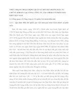THỰC TRẠNG HOẠT ĐỘNG QUẢN LÝ RỦI RO TRONG ĐẦU TƯ CHỨNG KHOÁN TẠI TỔNG CÔNG TY TÀI CHÍNH CỔ PHẦN DẦU KHÍ VIỆT NAM