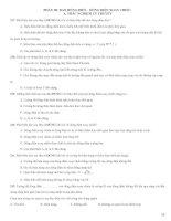 415 câu trắc nghiệm điện xoay chiều