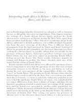 Interpreting South Africa to Britain – Olive Schreiner, Boers, and Africans
