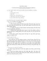 Bài giảng BỐ CỤC CỦA MỘT skkn