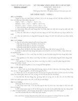 Gián án HSG Hóa 9 cấp huyện 09-10