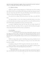 MỘT SỐ Ý KIẾN NHẰM HOÀN THIỆN CÔNG TÁC KẾ TOÁN TSCĐ HỮU HÌNH Ở CÔNG TY TNHH MỘT THÀNH VIÊN VẬT LIỆU CHỊU LỬA