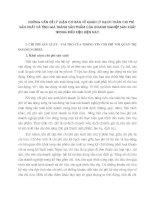 NHỮNG VẤN ĐỀ LÝ LUẬN CƠ BẢN VỀ QUẢN LÝ HẠCH TOÁN CHI PHÍ SẢN XUẤT VÀ TÍNH GIÁ THÀNH SẢN PHẨM CỦA DOANH NGHIỆP SẢN XUẤT TRONG ĐIỀU KIỆN HIỆN NAY.