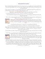 Bài soạn Dat mat khau cho tai lieu