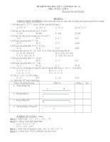 Tổng hợp đề kiểm tra học kì I Toán 6 ( Phần 1)