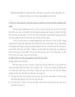 NHỮNG VẤN ĐỀ LÝ LUẬN CHUNG  VỀ CÔNG TÁC KẾ TOÁN VẬT LIỆU VÀ CÔNG CỤ DỤNG CỤ Ở DOANH NGHIỆP SẢN XUẤT.
