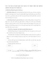 CÁC VẤN ĐỀ CƠ BẢN KHI XÂY DỰNG VÀ THIẾT MỘT HỆ THỐNG THÔNG TIN QUẢN LÝ NHÂN SỰ