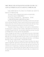THỰC TRẠNG CÔNG TÁC HẠCH TOÁN NGUYÊN VẬT LIỆU  TẠI CÔNG TY CỔ PHẦN SẢN XUẤT VÀ DỊCH VỤ CƠ ĐIỆN HÀ NỘI.