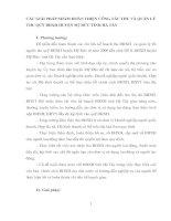 CÁC GIẢI PHÁP NHẰM HOÀN THIỆN CÔNG TÁC THU VÀ QUẢN LÝ THU QUỸ BHXH HUYỆN Mỹ ĐỨC TỈNH HÀ TÂY