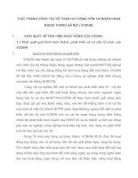 THỰC TRẠNG CÔNG TÁC KẾ TOÁN HUY ĐỘNG VỐN TẠI NGÂN HÀNG NGOẠI THƯƠNG HÀ NỘI ( VCBHN)