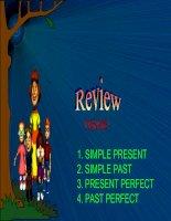 Bài soạn Revision  tense of verbs