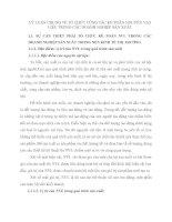 LÝ LUẬN CHUNG VỀ TỔ CHỨC CÔNG TÁC KẾ TOÁN NGUYÊN VẬT LIỆU TRONG CÁC DOANH NGHIỆP SẢN XUẤT