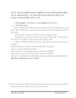 THỰC TRẠNG TRIỂN KHAI NGHIỆP VỤ BẢO HIỂM HÀNG HÓA XUẤT NHẬP KHẨU VẬN CHUYỂN BẰNG ĐƯỜNG BIỂN TẠI CÔNG TY BẢO HIỂM TOÀN CẦU