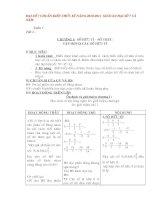 Bài giảng Giáo án Toán 7 chuẩn mới 2010-2011