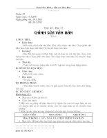 Gián án Tiết 42 - Chỉnh sửa văn bản (t1)